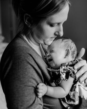 Newborn In home lifestyle