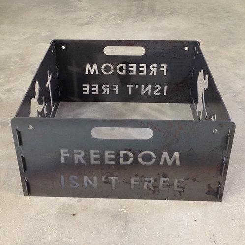 Freedom Isn't Free Fire Pit