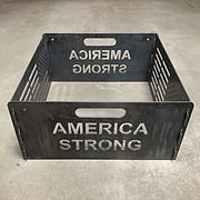 America Strong Fire Pit