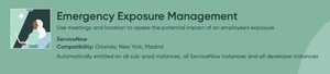 ServiceNow Emergency Exposure Management