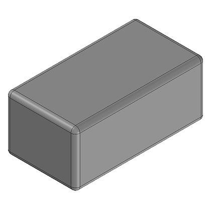 Polyethylene Plastic Storage Tank rectangular 80 Litre