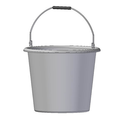 Heavy Duty Polyethylene Bucket with handle 20 Litre