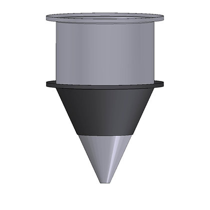 Polyethylene Plastic Storage Tank Conical 165 Litre