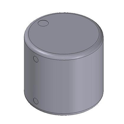 polyethylene plastic storage tank round 35 litre