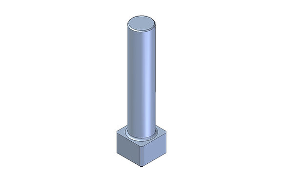 1/2 inch square drive router bit for fitment of spinwelds