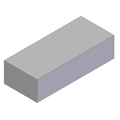Polyethylene Plastic Storage Tank rectangular 102 Litre