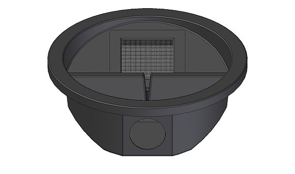 Filter Lid kit with mosquito proof mesh screen option for your SlimTank 1000+