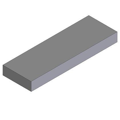 Polyethylene Plastic Storage Tank Flat rectangular 100 Litre
