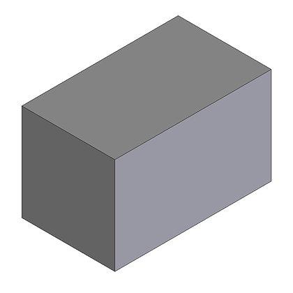 Polyethylene Plastic Storage Tank rectangular 400 Litre