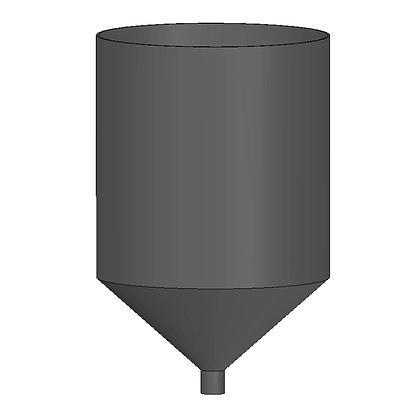 Polyethylene Plastic Storage Tank Conical 115 Litre