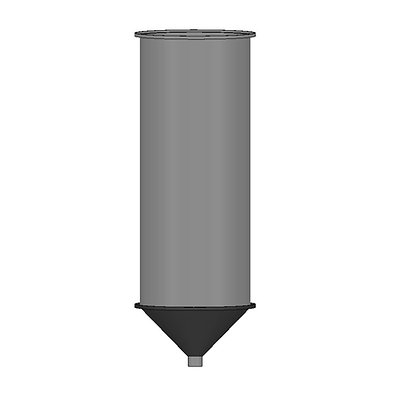 Polyethylene Plastic Storage Tank Conical 250 Litre