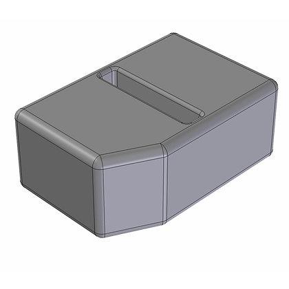Polyethylene Plastic Storage Tank Baffled 420 Litre