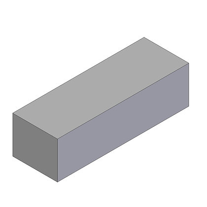 Polyethylene Plastic Storage Tank rectangular 60 Litre