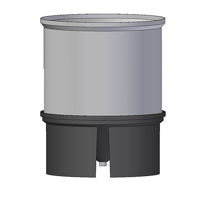 Polyethylene Plastic Storage Tank Conical 1400 Litre