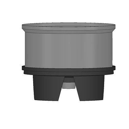 Polyethylene Plastic Storage Tank Conical 420 Litre