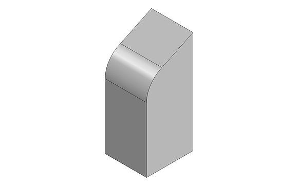 Polyethylene Plastic Storage Tank Curved 120 Litre