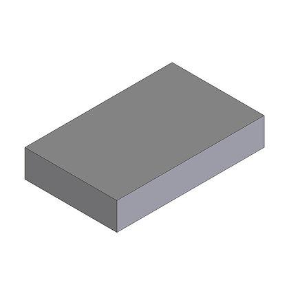 Polyethylene Plastic Storage Tank rectangular 53 Litre