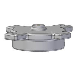 RJT Cap injection moulded from ABS