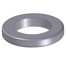Hose Tail Ring coupling protector injection moulded from polypropylene