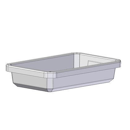 polyethylene plastic rotomoulded 10 litre tray
