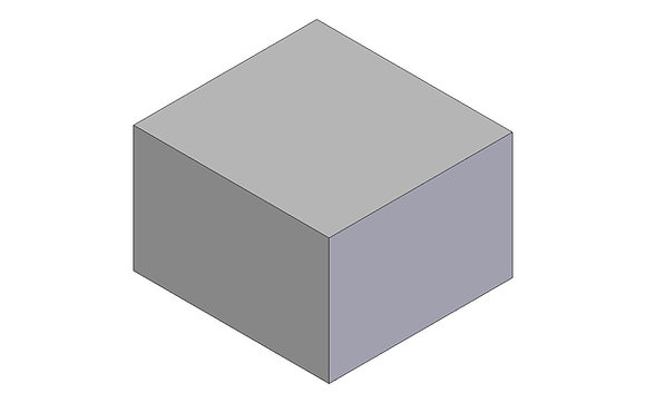 Polyethylene Plastic Storage Tank rectangular 55 Litre