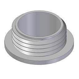 American Buttress Filler threaded spinweld injectin moulded frompolyethylene
