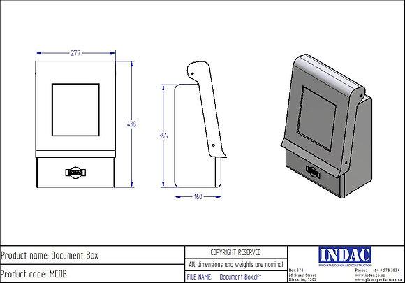 COVID-19 Document box sanitiser station