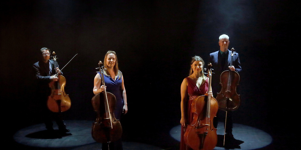 Music Network Presents: Cello Quartet featuring William Butt, Rosalie Curlett, Martin Johnson and Ailbhe McDonagh