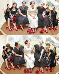 Bride and her gang