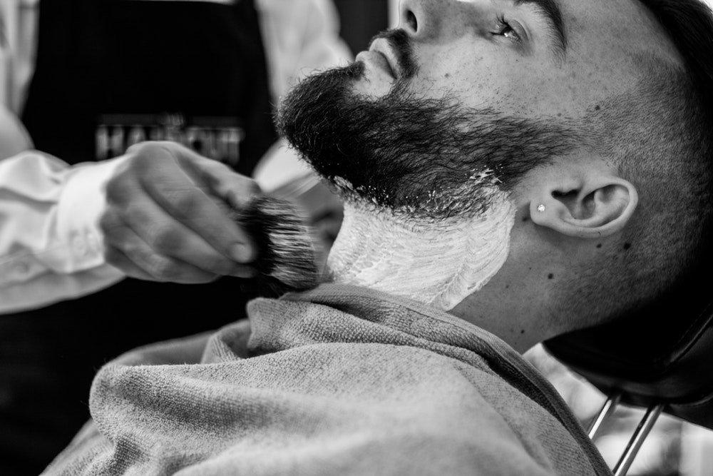 Beard Hot Towel Shave