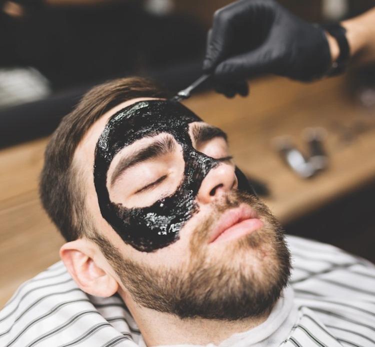 Haircut + Black Mask Facial
