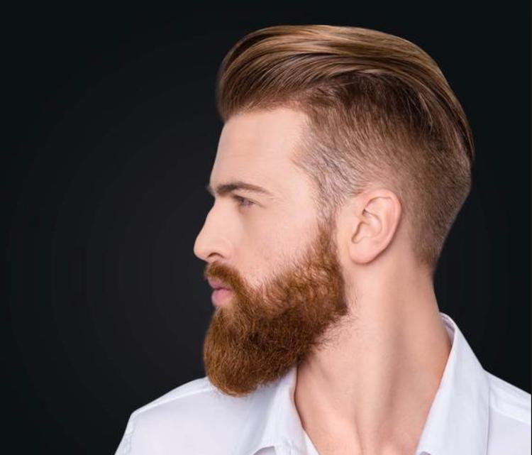 Color Hair + Beard