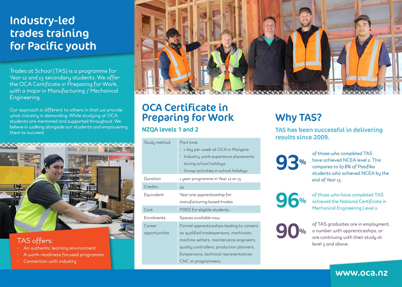 OCA Brochures