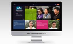 Pacific Health Hub Website