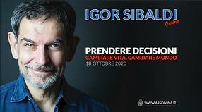 Igor Sibaldi Prendere Decisioni corso on
