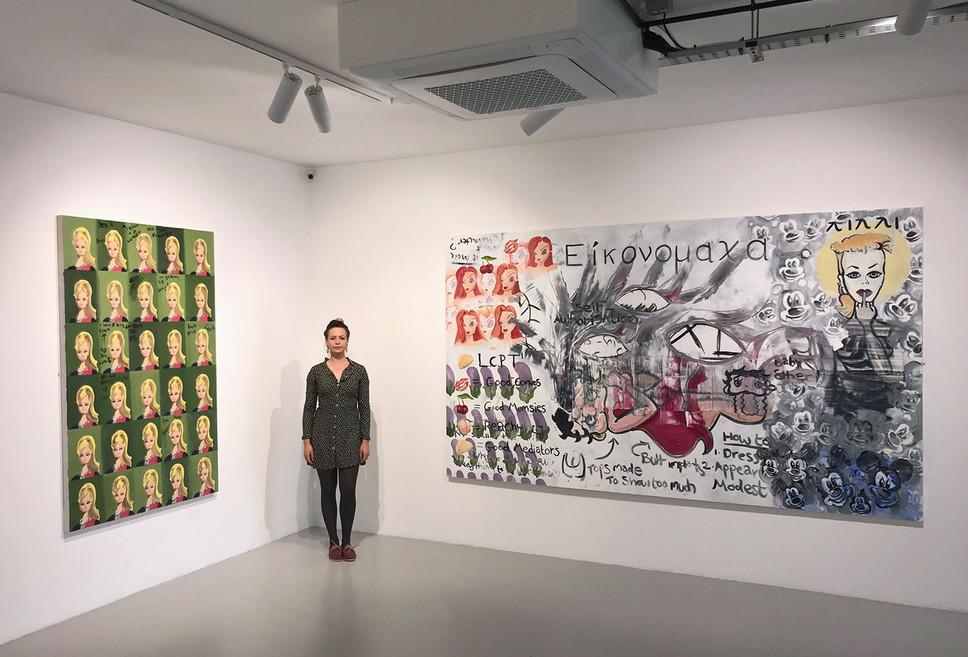 Fine Art MA Degree Show at the Pheonix Gallery, Brighton, 2020