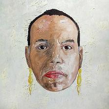 Auto retrato Tarsilante Óleo sobre tela