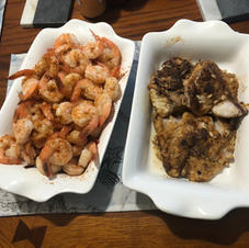 Another seafood adventure in our kitchen
