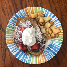 I love, love, love French Toast for breakfast!