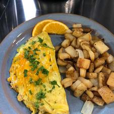 JB's crab omelette creation