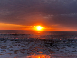 Sunrise on Hatteras Beach