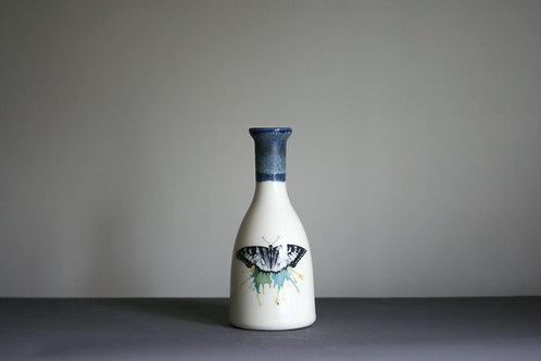 Small Bottle Vase- Butterfly