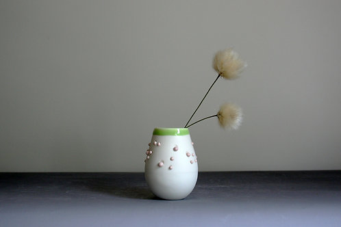 Mini 'Dribble' Pot-Green Rim