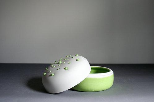 'Dribble' Trinket Box -Green