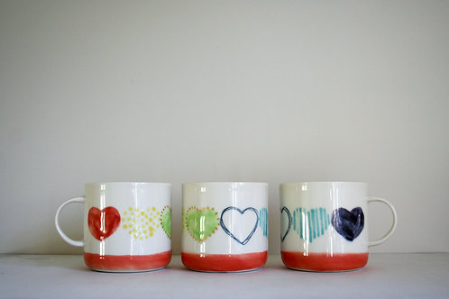 Love Mug- Rainbow