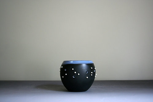 'Dribble' Tealight-Black & White