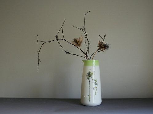 Large Jug Vase- Curly Fern