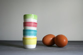 Colourful Eggcups