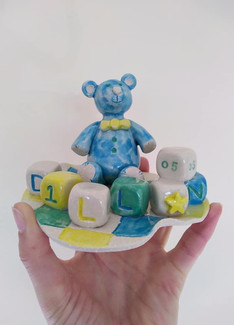 Baby Ornament Cake Topper
