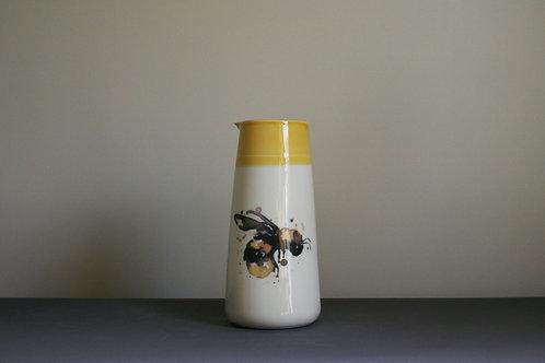 Large Jug Vase- Bumble Bee